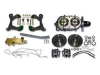 Brake Parts - Disc Brake Conversion Kits - H&H Classic Parts - Disc Brake Conversion Kit with Manual Disc Brakes