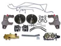 Brake Parts - Disc Brake Conversion Kits - H&H Classic Parts - Disc Brake Conversion Kit with Manual Disc Brakes & Drop SPindles