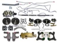 Brake Parts - Disc Brake Conversion Kits - H&H Classic Parts - 4-Wheel Disc Brake Conversion Kit