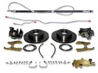 Brake Parts - Disc Brake Conversion Kits - H&H Classic Parts - 4-Wheel Disc Brake Upgrade Kit