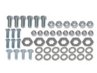 Chrome Bumpers - Bumper Bolts Kits - East Coast Reproductions - Front Bumper Bolt Kit