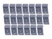 Window Parts - Fur Channel Kits - East Coast - Door Window U-Channel Clips