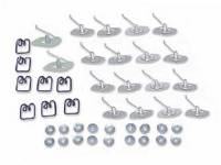 Clip Sets - Side Molding Clip Sets - East Coast - Fender Molding Clip Set