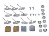 Clip Sets - Side Molding Clip Sets - East Coast Reproductions - 4-Door Adapter Clip Set