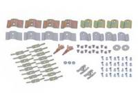 Clip Sets - Window Molding Clip Sets - East Coast - Upper/Lower Molding Clip Set (with End Clips)