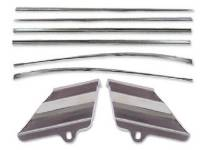 Side Moldings - 1956 Moldings - H&H Classic Parts - Side Trim Molding Kit
