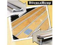Bed Wood Parts - Bed Strips - Mar-K - Double Hump Aluminum Bed Strips