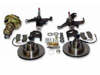 Brake Parts - Disc Brake Conversion Kits - H&H Classic Parts - Disc Brake Kit (Stock Height)