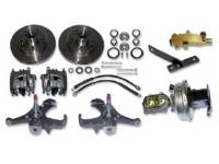 Brake Parts - Disc Brake Conversion Kits - H&H Classic Parts - Disc Brake Kit (Stock Height)