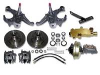 Brake Parts - Disc Brake Conversion Kits - H&H Classic Parts - Disc Brake Kit with Drop Spindles (5 Lug)