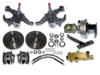 Brake Parts - Disc Brake Conversion Kits - H&H Classic Parts - Disc Brake Kit with Drop Spindles (5 Lug)