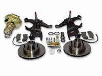 Brake Parts - Disc Brake Conversion Kits - H&H Classic Parts - Disc Brake Kit with Drop Spindles (6 Lug)