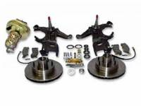 Brake Parts - Disc Brake Conversion Kits - H&H Classic Parts - Disc Brake Kit with Drop Spindles (6 Lug)