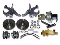 Brake Parts - Disc Brake Conversion Kits - H&H Classic Parts - Disc Brake Kit with Drop Spindles