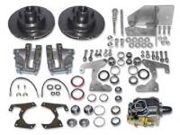Brake Parts - Disc Brake Conversion Kits - H&H Classic Parts - Manual Front Disc Brake Conversion Kit (5-Lug)