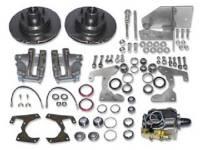 Brake Parts - Disc Brake Conversion Kits - H&H Classic Parts - Manual Front Disc Brake Conversion Kit (5-Lug)