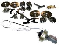 "Brake Parts - Disc Brake Conversion Kits - H&H Classic Parts - Disc Brake Conversion Kit (13"" Rotors)"