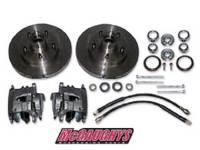 Brake Parts - Disc Brake Conversion Parts - McGaughy's - 5 Lug Rotor Caliper Kit for use with 6948/6949/6950/7149