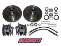 Brake Parts - Disc Brake Conversion Parts - Classic Performance Products - 6 Lug Rotor Caliper Kit for use with 6948/6949/7149