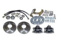Brake Parts - Disc Brake Conversion Parts - Classic Performance Products - Front Disc Brake Kit (6 Lug)