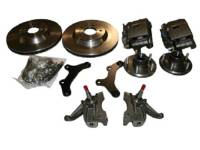 "Brake Parts - Disc Brake Conversion Parts - McGaughy's Suspension - 13"" Rotor Kits with Drop Spindles"