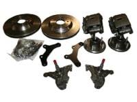 "Brake Parts - Disc Brake Conversion Parts - McGaughy's - 13"" Rotor Kits with Drop Spindles"
