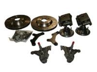 "Classic Chevy & GMC Parts Online Catalog - McGaughy's Suspension - 13"" Rotor Kits with Drop Spindles (Cross Drilled)"