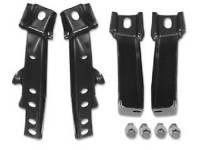 Bumper Parts (Chrome) - Rear Bumper Brackets - H&H Classic Parts - Rear Bumper Brackets