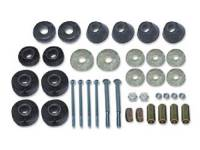Rubber Cab Mounts - Rubber Cab Mounts - H&H Classic Parts - Cab Mounts with Bolts