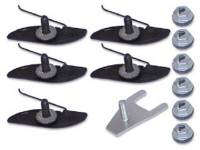 Clip Sets - Side Molding Clip Sets - H&H Classic Parts - Upper Fender Molding Clip Set (Does 1 Molding)