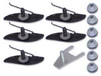 Clip Sets - Side Molding Clip Sets - H&H Classic Parts - Upper Fender Molding Clip Set (Does 1 Molding)