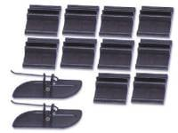 Clip Sets - Side Molding Clip Sets - H&H Classic Parts - Upper Bed Molding Clip Set (Does 1 Molding)