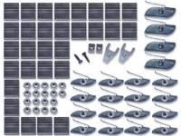 Clip Sets - Side Molding Clip Sets - H&H Classic Parts - Complete Upper Molding Clip Set
