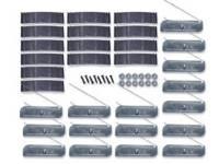 Clip Sets - Side Molding Clip Sets - H&H Classic Parts - Complete Lower Molding Clip Set