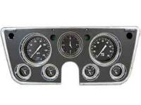 Dash Parts - Classic Instrument Gauge Kits - Classic Instruments - Classic Instrument Gauge Kit Black/White