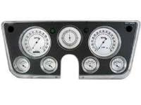 Dash Parts - Classic Instrument Gauge Kits - Classic Instruments - Classic Instrument Gauge Kit White/Black