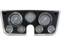 Dash Parts - Classic Instrument Gauge Kits - Classic Instruments - Classic Instrument Gauge Kit Gray/Red