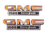 Emblems - Fender Emblems - H&H Classic Parts - Fender Emblems 1500 Sierra Grande