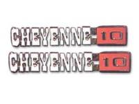 Fender Parts - Fender Emblems - Trim Parts - Fender Emblems Cheyenne 10