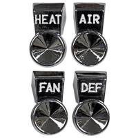 Heater Parts - Heater Control Parts - H&H Classic Parts - Heater Control Knobs
