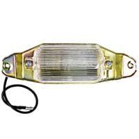 License Plate & Light Parts - License Light Lens & Assemblies - H&H Classic Parts - License Light Assembly