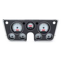 Dash Parts - Dakota Digital Dash Assemblies - Dakota Digital - VHX Series Carbon Fiber Blue