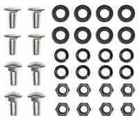Bumpers (Chrome) - Bumper Bolt Kits - H&H Classic Parts - Front Bumper Bolt Kit