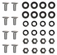Chrome Bumpers - Bumper Bolt Kits - H&H Classic Parts - Front Bumper Bolt Kit
