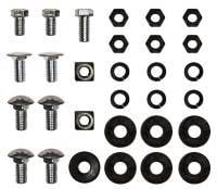 Chrome Bumpers - Bumper Bolt Kits - H&H Classic Parts - Rear Bumper Bolt Kit