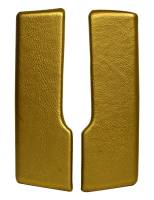 Arm Rest Parts - Arm Rest Pads - PUI - Rear Armrest Pads Gold
