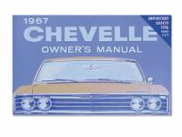 Classic Chevelle Parts Online Catalog - Books & Manuals - DG Automotive Literature - Owners Manual